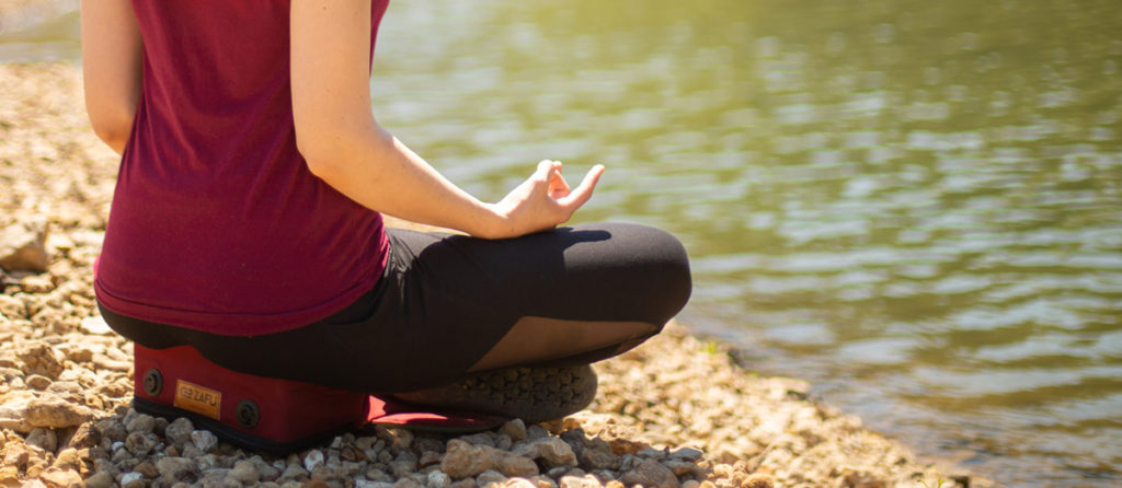 Outdoor Meditation Cushion (Visible SEO)